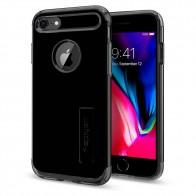 Spigen Slim Armor Case Phone 8/7 Git Zwart - 1