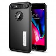 Spigen Slim Armor Case Phone 8/7 Zwart - 1