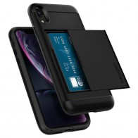 Spigen Slim Armor CS iPhone XR Hoesje Zwart 01