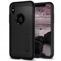 Spigen - Slim Armor iPhone 8 Hoesje Black 01
