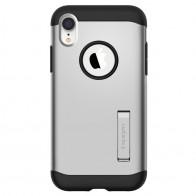 Spigen Slim Armor iPhone XR Hoesje Silver 01