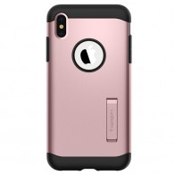 Spigen Slim Armor iPhone XS Max Hoesje Roze 01