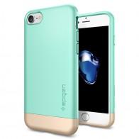 Spigen Style Armor Case iPhone 7 Mint Green/Gold - 1