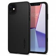 Spigen Thin Fit iPhone 11 Hoesje Zwart - 1