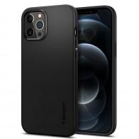 pigen - Thin Fit Case iPhone 12 Pro Max 6.7 inch zwart 01
