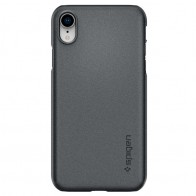 Spigen Thin Fit iPhone XR Case Graphite Grey 01