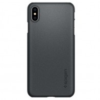 Spigen Thin Fit 360 Case iPhone XS Max Grijs 01