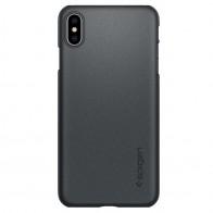 Spigen Thin Fit 360 Case iPhone XS Max Grijs 01