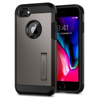 Spigen Tough Armor 2 iPhone 8/7 Hoesje Gunmetal - 1
