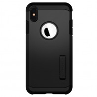 Spigen Tough Armor Case iPhone XS Max Zwart 01