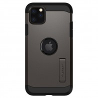 Spigen Tough Armor iPhone 11 Pro Max Hoesje Gunmetal - 1