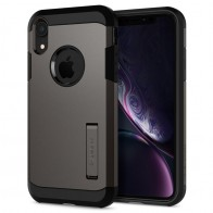 Spigen Tough Armor Case iPhone XR Gunmetal 01