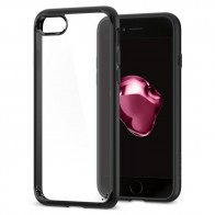 Spigen Ultra Hybrid 2 Case iPhone 8/7 Zwart - 1