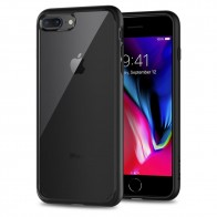 Spigen Ultra Hybrid 2 Case iPhone 8 Plus/7 Plus Zwart - 1