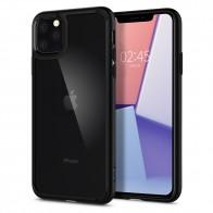 Spigen Ultra Hybrid Case iPhone 11 Pro Zwart - 1