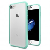 Spigen Ultra Hybrid iPhone 7 Mint Green/Clear - 1