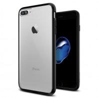 Spigen Ultra Hybrid iPhone 7 Plus Black/Clear - 1