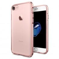 Spigen Ultra Hybrid iPhone 7 Rose Gold/Clear - 1