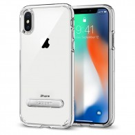 Spigen Ultra Hybrid S iPhone X Hoesje Transparant - 1