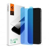 Spigen Anti Blue Screenprotector iPhone 12 Mini 5.4 inch 01