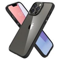 Spigen Ultra Hybrid Zwart/Transparant iPhone 13 Pro Max 0