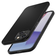 Spigen Thin Fit iPhone 13 Zwart 01