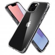 Spigen Ultra Hybrid iPhone 13 Mini Transparant 01
