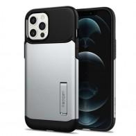 Spigen Slim Armor iPhone 12 Pro Max 6.7 inch Zilver 01