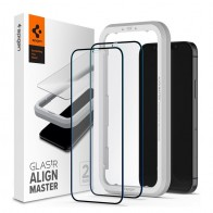 Spigen Glass tR HD iPhone 12 Mini 2 Pack 01