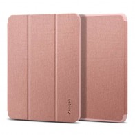Spigen Urban Fit iPad Air 10-9 inch 2020 hoesje Rose 01