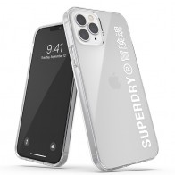 Superdry Snap Case Clear iPhone 12 Pro Max wht/clr 01