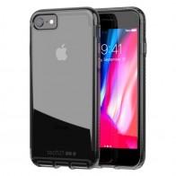 Tech21 - Pure Clear Case iPhone SE (2020)/8/7 carbon 01