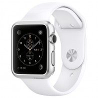 Spigen Thin Fit Case Apple Watch 38mm Silver - 1