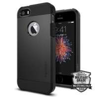 Spigen Tough Armor Case iPhone SE / 5S / 5 Black - 4