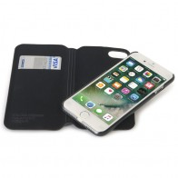 Tucano 2-in-1 Wallet Case iPhone 7 Black - 1