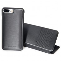 Tucano 2-in-1 Wallet Case iPhone 7 Plus Black - 1