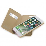 Tucano 2-in-1 Wallet Case iPhone 7 Plus Gold - 1
