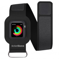 Twelve South - ActionSleeve voor Apple Watch 42mm Black 01