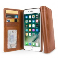 Twelve South - Journal Wallet iPhone 7 Plus hoesje Brown 01
