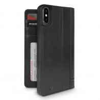 Twelve South Journal Leather Wallet iPhone X/Xs Zwart - 1