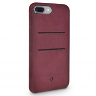 Twelve South - RelaxedLeather iPhone 7 Plus Wallet hoesje Marsala 01