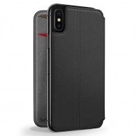 Twelve South SurfacePad iPhone XS Max Hoesje Zwart Leer 01