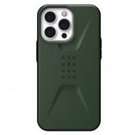 UAG Civilian iPhone 13 Pro Hoesje Olijfgroen - 1