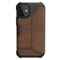 UAG Metropolis iPhone 12 Mini Leather Brown - 1