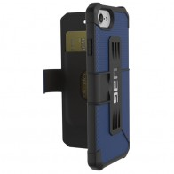 UAG - Metropolis iPhone 7/6S/6 Folio hoes Blue 01
