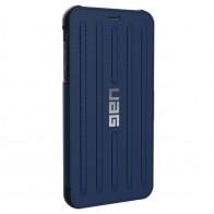 UAG Metropolis iPhone XS Max Hoesje Cobalt Blue 01