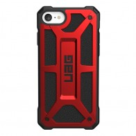 UAG Monarch iPhone SE (2020)/8/7/6S/6 rood-zwart 01