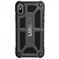 UAG - Monarch iPhone X Hoesje Graphite Black 01