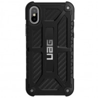 UAG Monarch iPhone X Hoesje Carbon Black 01