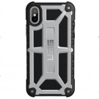 UAG Monarch iPhone X Hoesje Platinum Platina 01